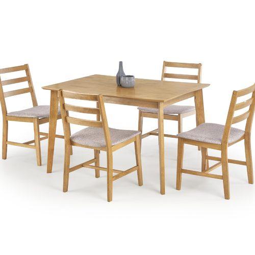 Набор CORDOBA стол+4 стула бежевый Halmar