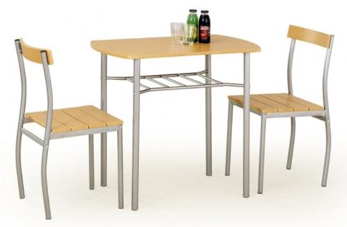 Набор LANCE стол+2стула бежевый Halmar
