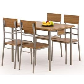 Набор NATAN стол+4 стула бежевый Halmar