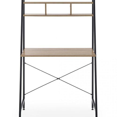 Стол письменный NARVIK B-2 коричневый Halmar