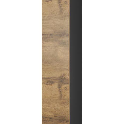 Шкаф навесной LIVO S180 черный Halmar