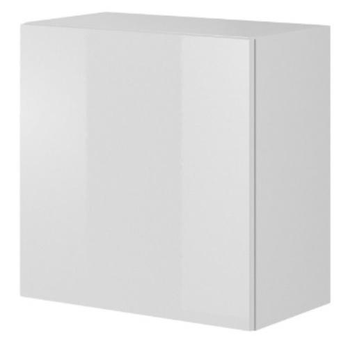 Шкаф навесной LIVO W-55 белый Halmar
