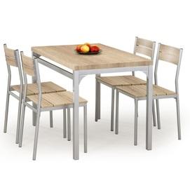 Набор MALCOLM стол+4стула серый Halmar