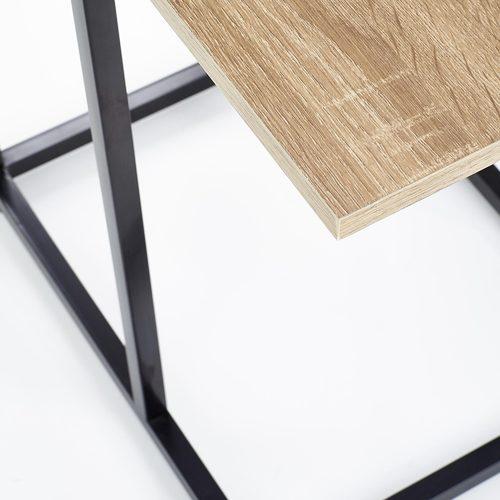Стол приставной NARVIK LAW-1 коричневый Halmar