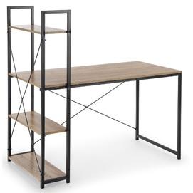 Стол письменный NARVIK B-1 коричневый Halmar