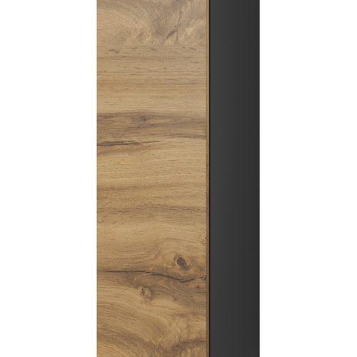 Шкаф навесной LIVO S120 черный Halmar
