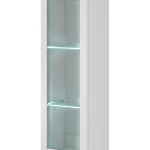 Шкаф навесной LIVO W-120 белый Halmar
