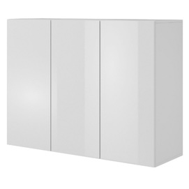 Шкаф навесной LIVO KM-120 белый Halmar