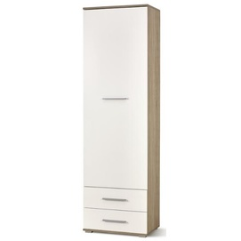 Шкаф LIMA REG-1 бежевый+белый Halmar