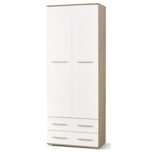 Шкаф LIMA REG-2 бежевый+белый Halmar
