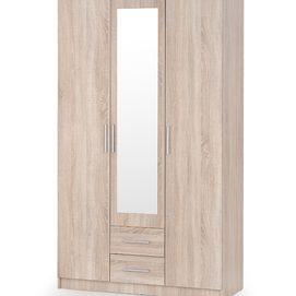 Шкаф с зеркалом LIMA S-3 бежевый Halmar
