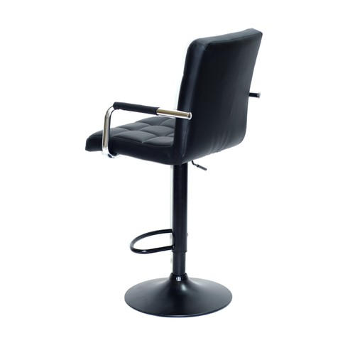 Кресло барное AUGUSTO - ARM BAR BK - BASE 10254 черный Thexata 2020