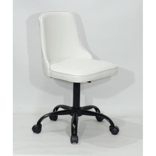 Стул офисный ADAM BK-Office 10176 белый Thexata 2020