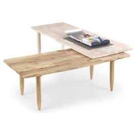 Набор столиков BORA бежевый Halmar