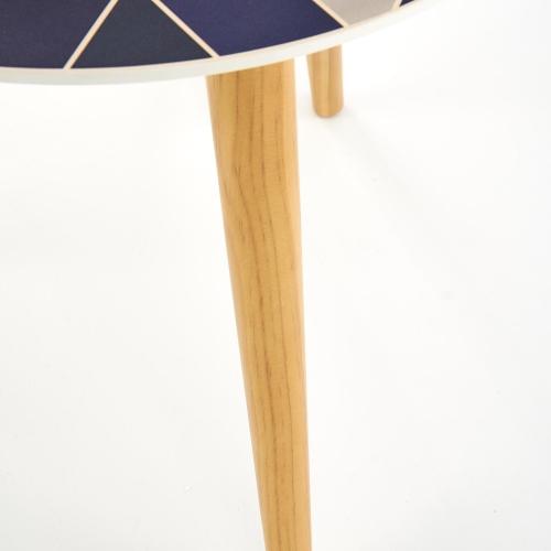 Набор столиков TEQUILA синий Halmar