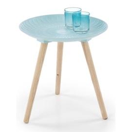 Стол кофейный BINGO голубой Halmar