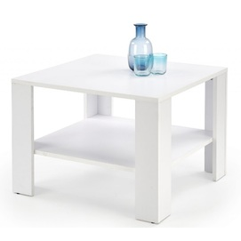 Стол журнальный KWADRO квадрат белый Halmar