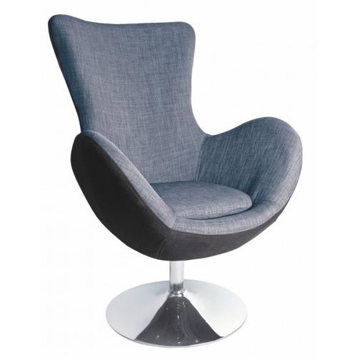 Кресло BUTTERFLY серый Halmar