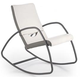 Кресло качалка BALANCE серый Halmar