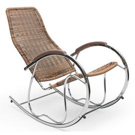 Кресло качалка BEN коричневый Halmar