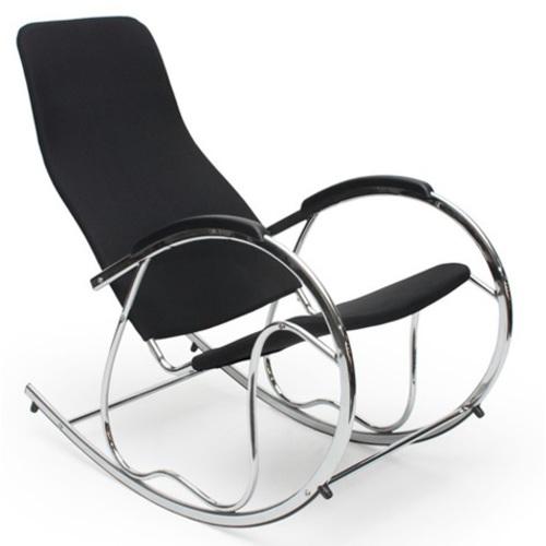 Кресло качалка BEN  2 черный  Halmar