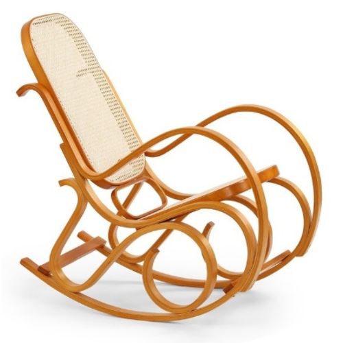 Кресло качалка MAX BIS бежевый Halmar