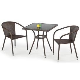 Стол обеденный MOBIL коричневый Halmar