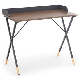 Стол письменный B-37 коричневый Halmar