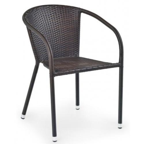 Кресло MIDAS коричневый Halmar