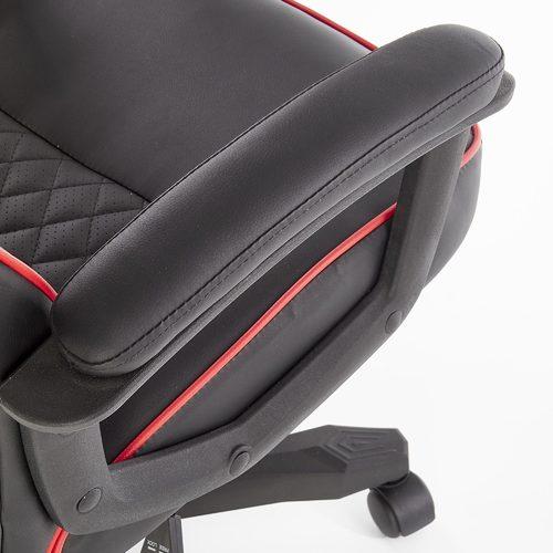 Кресло офисное BAFFIN красный Halmar