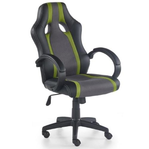 Кресло офисное RADIX серый+зеленый Halmar