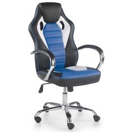Кресло офисное SCROLL голубой Halmar