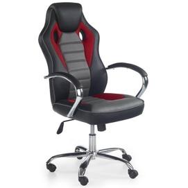 Кресло офисное SCROLL черный+красный Halmar