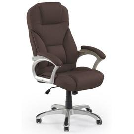 Кресло офисное DESMOND темно-коричневый Halmar
