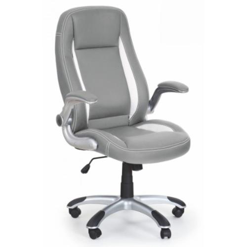Кресло офисное SATURN серый Halmar