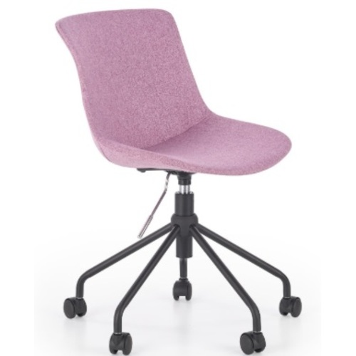 Стул офисный DOBLO розовый Halmar