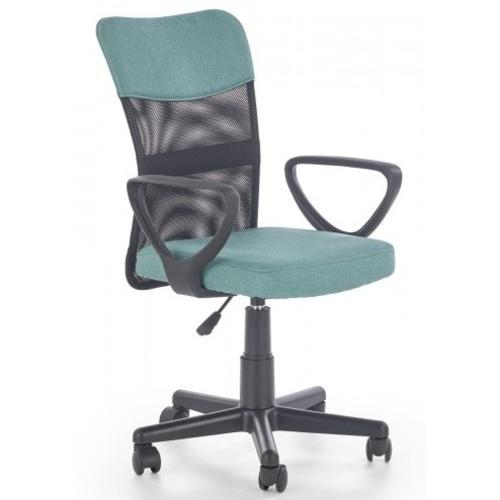 Кресло офисное TIMMY бирюзовый Halmar