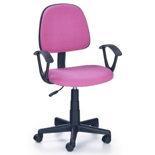 Кресло офисное DARIAN BIS розовый Halmar