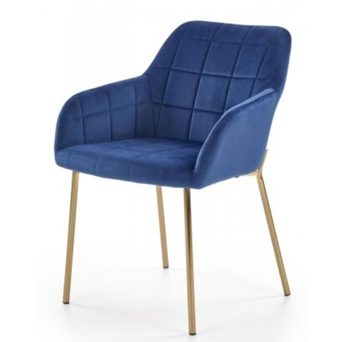 Кресло K306 темный-синий Halmar
