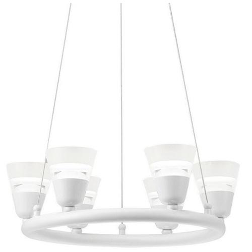Люстра BELL 6 LED 306661 белый Polux