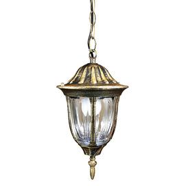 Лампа уличная FLORENCJA 302557 золото патина Polux