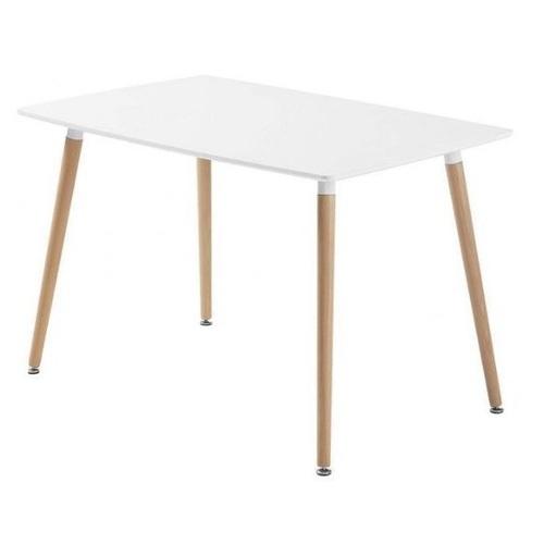 Стол обеденный 110см DT-9017 белый Exouse 2020
