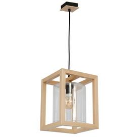 Лампа подвесная Legno 8423 бежевый Luminex