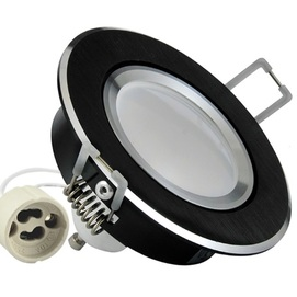 Точечный светильник LED SUN OLAL 301178 черный Polux