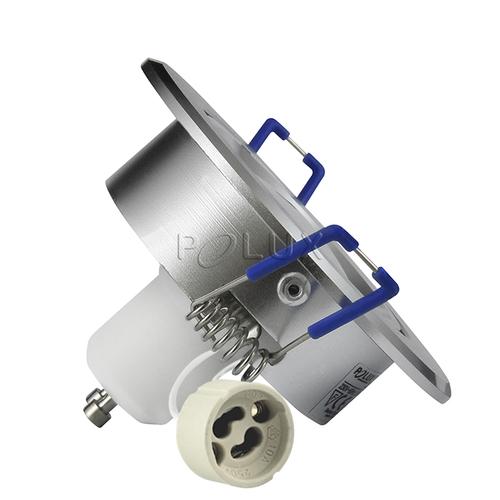 Точечный светильник LED SUN OLAL 301192 серебро Polux