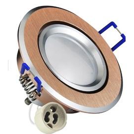 Точечный светильник LED SUN OLAL 301215 золото Polux