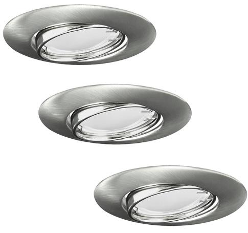 Подвес LED OLIN 3шт 306203 серебро Polux