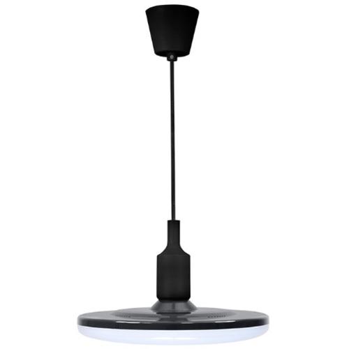 Лампа подвесная W KIKI 10 LED 308085 черный Polux