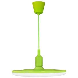 Лампа подвесная W KIKI 10 LED 308092 зеленый Polux