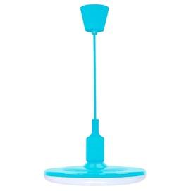 Лампа подвесная W KIKI 15 LED 308146 голубой Polux